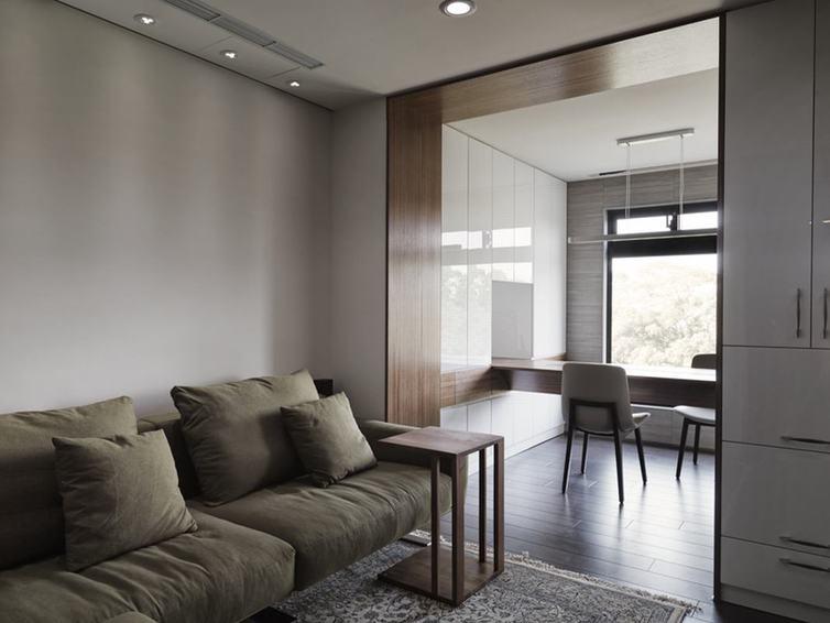 简约小美式雅致客厅装潢设计图