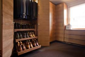实用雅致混搭风格鞋柜装修效果图