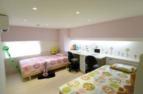多彩混搭儿童房装修效果图片