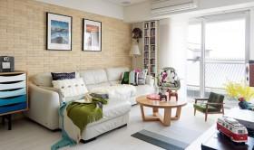 创意混搭多彩客厅装修布置