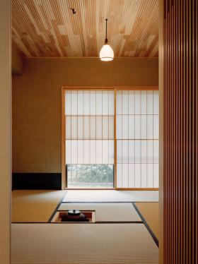 日式和风淡雅榻榻米效果图设计