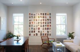 淡雅简约风格照片墙设计装潢