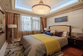 米色新古典风格卧室设计案例