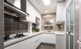 白色素雅大气实用宜家厨房装饰设计图片