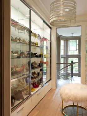 精致实用现代风格鞋柜欣赏