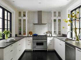 2016自然文艺田园风格厨房装修图