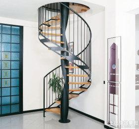 创意混搭风格黑色楼梯装修