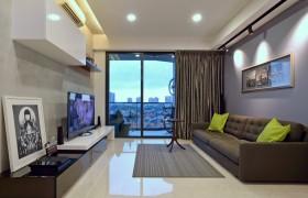 现代灰色客厅装修效果图片