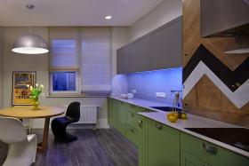 2016时尚现代风格灰色厨房装潢设计