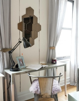 2016雅致现代灰色书房装修设计