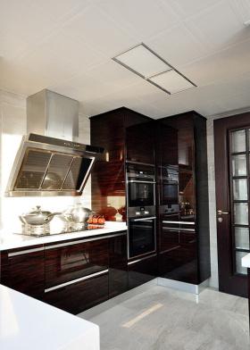 奢华大气美式风格厨房装修布置