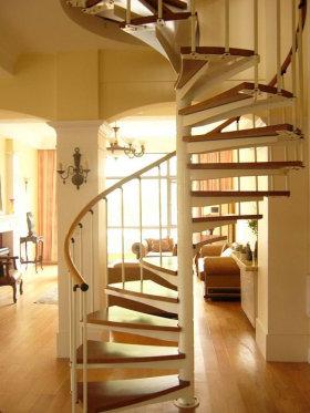 简约淡雅美式风格楼梯装饰案例