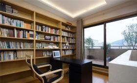 沉稳大气宁静现代风格书房欣赏