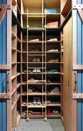 现代整洁鞋柜效果图设计