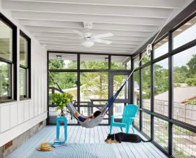 舒适雅致大气简约风格阳台设计