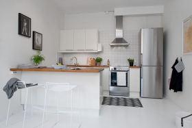 时尚混搭白色厨房美图赏析