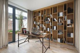质朴宜家风格书房效果图