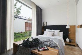 白色休闲宜家风格卧室图片