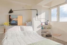 白色清爽简约卧室设计图片