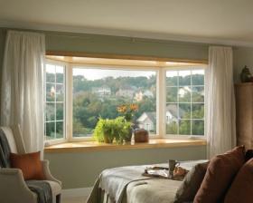 优雅休闲简约风格卧室飘窗效果图欣赏