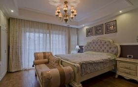 欧式温馨卧室窗帘赏析