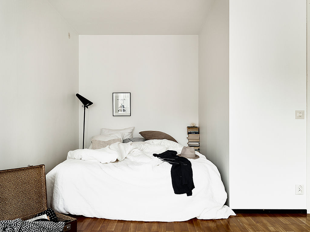 白色宜家风格卧室装修效果图