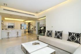 简约风格时尚白色客厅美图欣赏