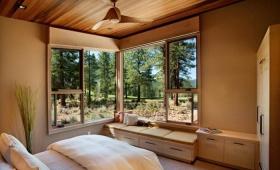 自然休闲混搭卧室飘窗图片