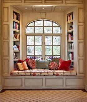 舒适文星浪漫新古典风格飘窗欣赏