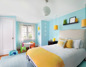 创意多彩混搭儿童房效果图赏析