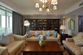 美式客厅美图欣赏
