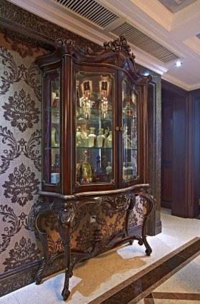华丽新古典低奢风格酒柜设计