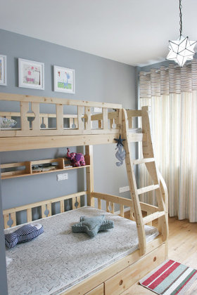 田园浪漫温馨儿童房装饰设计图片