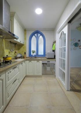 浪漫唯美地中海风格厨房橱柜赏析
