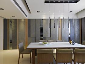 现代风格灰色时尚餐厅设计赏析