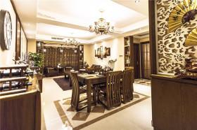 复古新古典风格雅致餐厅装潢设计