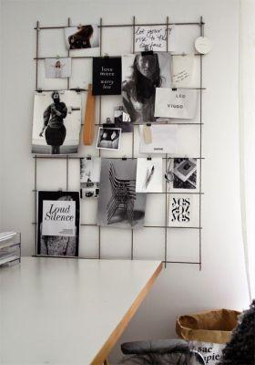 随性自然混搭照片墙设计案例