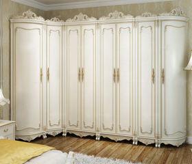 华丽时尚新古典复古衣柜设计案例