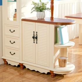 简欧精致风格白色鞋柜设计图片