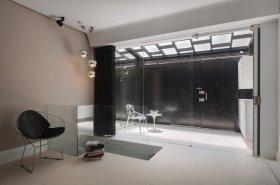 白色现代风格阳台阳光房效果图欣赏