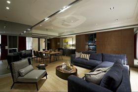 雅致时尚现代风格客厅设计欣赏