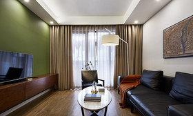 绿色新中式风格客厅效果图设计
