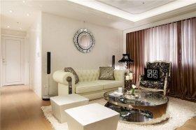 新古典风格米色客厅效果图欣赏