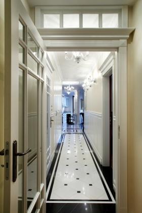简约精致时尚白色欧式过道设计案例