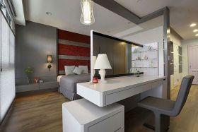 优雅精致现代风格卧室隔断美图欣赏