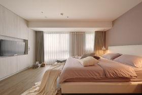 原木色宜家风格卧室装修欣赏