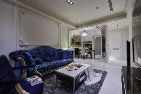 白色奢华新古典风格客厅美图欣赏