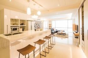 2016大气米色素雅宜家风格吧台设计