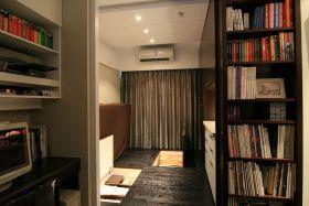 混搭风格阁楼书房设计装潢