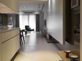 现代风格灰色玄关设计装潢